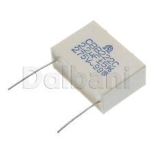 10pcs @70¢ CBB222C-275V2.2UF Metallized Film Capacitor CBB222C 275V 2.2UF