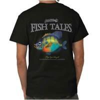 Gill McFinn's Fish Tales Bug Eyed Bluegill Adult Short Sleeve Crew T Shirt