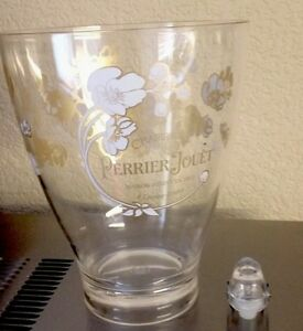 PERRIER JOUET BELLE EPOQUE CHAMPAGNE COOLER NEW WITH A  PJ BOTTLE STOPPER