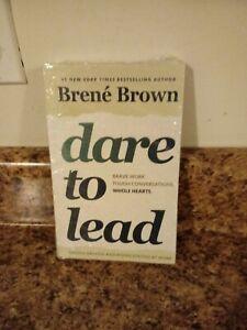 Dare To Lead paperback book Brene Brown