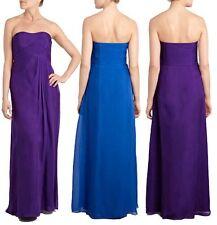 """Vestido de baile BNWT """"Costa"""" tamaño 12 acapella Azul Vestido Maxi bodas, Crucero Nuevo"""