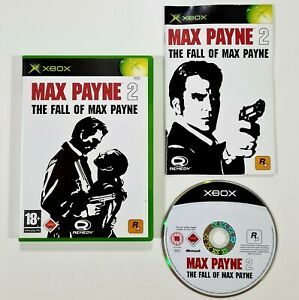 Rockstar/Microsoft XBOX Spiel MAX PAYNE 2 dt. Mafia/Gangster/Shooter/Bullet Time