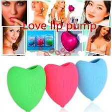 Silicone Natural Heart Lip Pump Enhancer Plastic Lip Plumper Plump bigger big