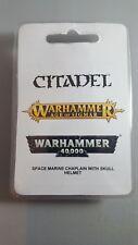 Warhammer 40k: Chaplain with Skull Helmet NIB (Resin)