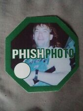 Phish Green authentic Photo 1999 tour Backstage Pass All Access