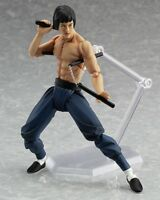 New Max Factory Figma No.266 Bruce Lee Action Figure Boxed