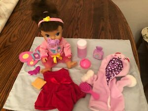Baby Alive Butterfly Party Brunette With Extra Accessories Toy R Us Exclusive