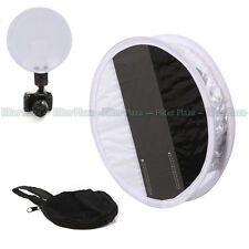 30cm 18% Gray Card White balance Board & Round Flash Speedlight Diffuser Softbox
