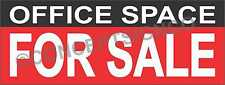 2'X5' OFFICE SPACE FOR SALE BANNER Outdoor Sign Real Estate Property Business