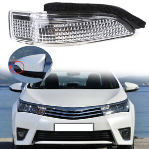 Right Side Rearview Mirror Turn Signal Lamp FitsToyota Camry/Prius C 2013-2016