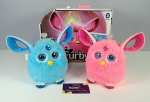 Hasbro Furby Connect Pink & Blue Interactive Electronic Toys Bluetooth Talking
