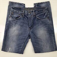 American Eagle Mens Original Taper Jeans 29/30 Destroyed Measurements Below