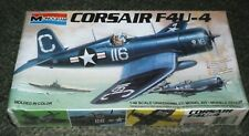 Monogram 1/48 Vought F4U-4 Corsair - Factory Sealed Kit - White Box Issue 1983