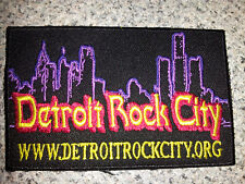 Detroit Rock City patch 2