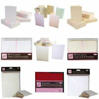 *OFFER* Docrafts High Grade Blank Card + Matching Envelope Packs - FULL RANGE!