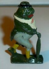 Britains Cococubs Pre-war lead figure of animals this one is Freddy Frog