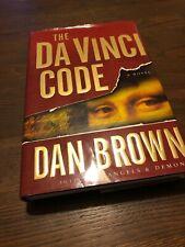 The Da Vinci Code 1st Edition Hardcover Dustjacket