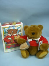 Gund Kid Kodiak, an Authentic Rugby Bear MIB 1994