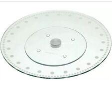 Kitchen Craft  30cm Revolving Glass Cake Decorating Icing Stand Platter
