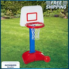 Kids Basketball Set Toddler Indoor Outdoor Adjustable Hoop Stand Sport Toy Ball