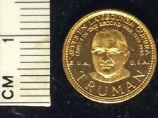 New Listing Rare mini Gold HarryTruman and other medals, 1959-77