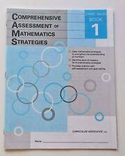 New Book! Comprehensive Assessment of Mathematics Strategies 1st First Grade 1
