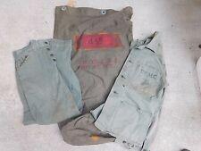 KOREAN WAR ERA USMC U.S. MARINE CORPS NAMED HBT JACKET, PANTS & SEA BAG GROUP