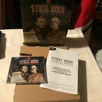 CIVIL WAR Experience(PC Video Game)History Channel Factory Sealed Game+BIG Box+