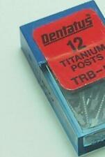 Dentatus Dental Screw Posts S6 Refill Box 12 posts (Titanium) Short Sweden