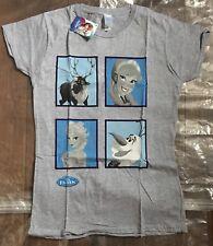 Disney's Frozen Ladies Large Grey T Shirt