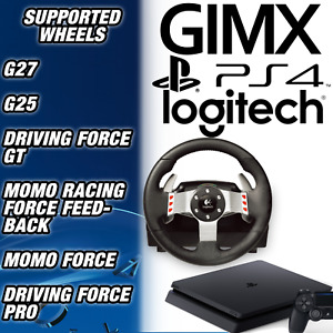 GIMX USB WHEEL ADAPTER- USE YOUR LOGITECH G27, G25 & MORE ON PS4
