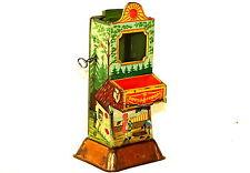 Rare German Candy Chocolate Red Riding Hood Vending Machine Money Bank Tin 1910s