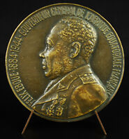 Medal, Felix Eboué Governor of Chad the Colonies Africa Equatorial Medal