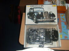 HELLER vintage 1/24 CITROEN 15 SIX TRACTION AVANT