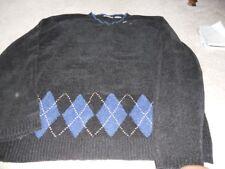 Untied men's velour sweater black size XL