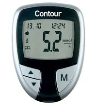 Contour Blood Glucose Meter - Black - Bayer - Diabetics - Single Unit Meter Only