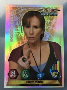 Doctor Who Alien Armies DONNA NOBLE Limited Edition Card Foil SCARCE