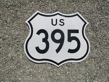 UNUSED REAL GENUINE U.S. 395 CALIFORNIA FREEWAY HIGHWAY ROAD SIGN MAN CAVE BAR
