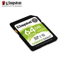 Kingston Canvas Select 64GB SDXC Class 10 SD Memory Card UHS-I U1