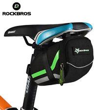 ROCKBROS MTB Cycling Back Seat Rear Bag Rainproof Bike SaddleTail Pouch Package
