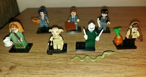 Lego 71022 Bundle 7x Harry Potter Fantastic Beasts Series 1 Minifigures SEE INFO