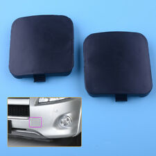 2x Left Right Front Bumper Tow Hook Eye Cover Cap for Toyota RAV4 2009-2012