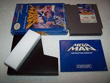Megaman 1-Nintendo NES-UK Pal A-VG cond-Coffret & COMPLET