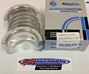 ACL 5M1038A-20 SMALL BLOCK CHEVY 400 V8 Engines Main Bearing Set