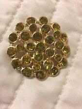 30 Crystal Clear//Gold 2 Hole Sewing Button 13mm//Shirt//Trim//Elegant Design SB30