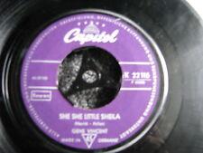 Gene Vincent-Carzy Times + She She Little Sheila 7 s-Germany-1959-Mispress