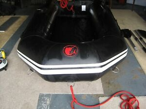 3D Superlight 250 tender air deck inflatable boat yacht tender SIB Avon Dinghy