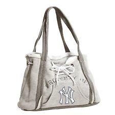 New York Yankees MLB Baseball Team Ladies Embroidered Hoodie Purse Handbag