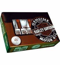 Harley Davidson Golf Balls Oil Can, 12 Pack, New, White golf balls