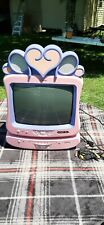 Disney Pink Princess TV with DVD Player Tested!!! No Remotes